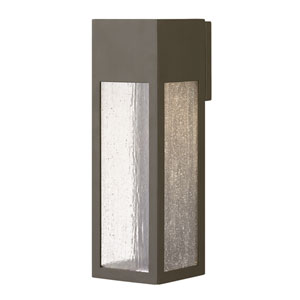 Rook Bronze One-Light Outdoor Large Wall Mount