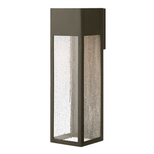 Rook Bronze One-Light Outdoor Extra Large Wall Mount