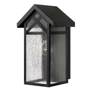 Holbrook Black 16-Inch One-Light Outdoor Wall Light