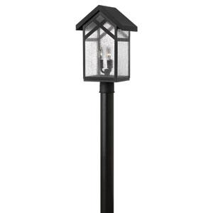 Holbrook Black Three Light Outdoor Post Mount