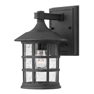 Freeport Black LED Outdoor Small Wall Light