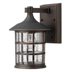 Freeport Oil Rubbed Bronze One-Light Outdoor Wall Light