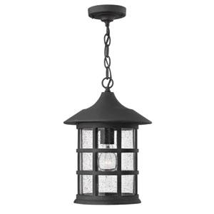 Freeport Black LED Outdoor Pendant