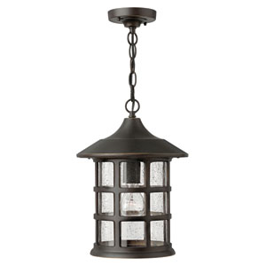 Freeport Oil Rubbed Bronze One-Light LED Outdoor Pendant
