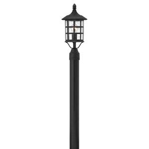 Freeport Black One-Light Outdoor Post Mount