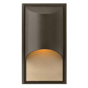 Cascade Bronze One-Light Medium Outdoor Wall Light
