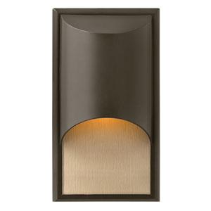 Cascade Bronze One-Light Medium Fluorescent Outdoor Wall Light
