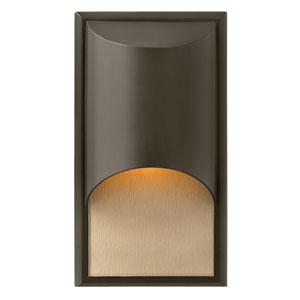 Cascade Bronze One-Light Small LED Outdoor Wall Light