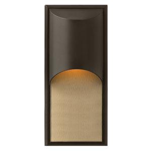 Cascade Bronze One-Light Outdoor Wall Light