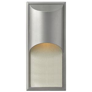Cascade Titanium One-Light Outdoor Wall Light