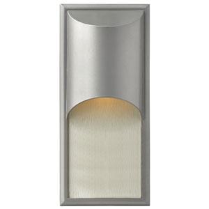 Cascade Titanium One-Light LED Outdoor Wall Light