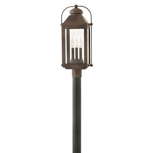Anchorage Light Oiled Bronze One-Light Outdoor 13-Inch Small Wall Mount