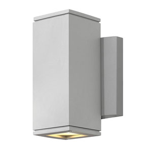 Kore Titanium 5-Inch LED Outdoor Medium Wall Mount