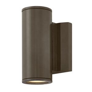 Kore Bronze 5-Inch LED Outdoor Medium Wall Mount