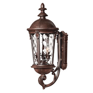 Windsor River Rock 25.5-Inch LED Outdoor Wall Sconce