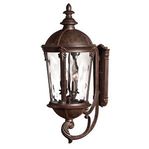 Windsor River Rock 32-Inch LED Outdoor Wall Sconce