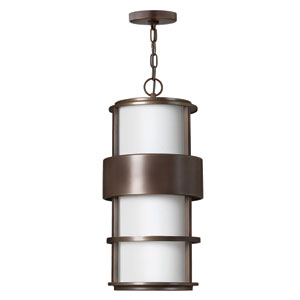 Saturn Metro Bronze Fluorescent Outdoor Hanging Pendant