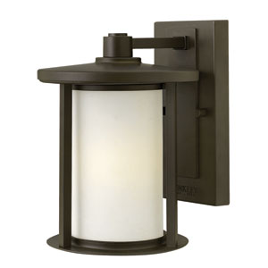 Hudson Oil Rubbed Bronze 10-Inch One-Light LED Outdoor Wall Sconce