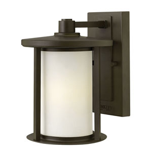 Hudson Oil Rubbed Bronze One-Light Outdoor Wall Mounted