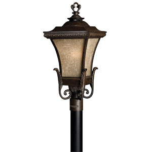 Brynmar Fluorescent Outdoor Post Mount