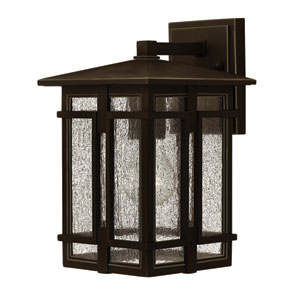 Tucker Oil Rubbed Bronze 11.5-Inch One-Light Outdoor Wall Sconce