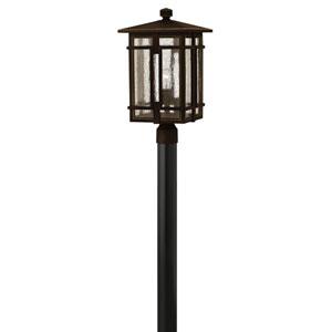 Tucker Oil Rubbed Bronze One-Light LED Outdoor Post Mount