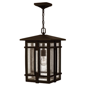 Tucker Oil Rubbed Bronze One-Light Outdoor Pendant