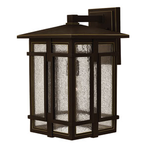 Tucker Oil Rubbed Bronze 18-Inch One-Light Outdoor Wall Sconce