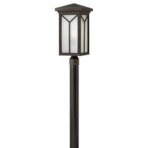 Drake Oil Rubbed Bronze One-Light LED Outdoor Post Mounted