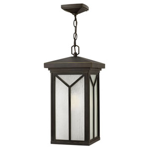 Drake Oil Rubbed Bronze One-Light LED Outdoor Pendant