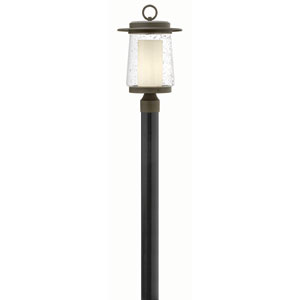 Riley Oil Rubbed Bronze 18.5-Inch One-Light Outdoor Post Mounted