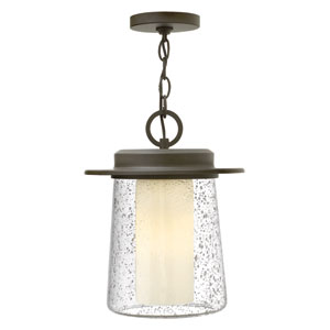 Riley Oil Rubbed Bronze One-Light LED Outdoor Pendant