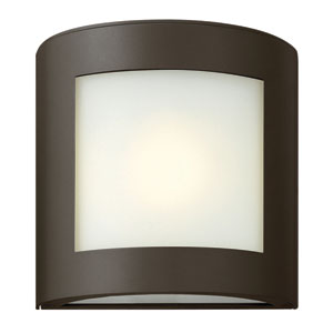 Solara Bronze One-Light Outdoor Wall Mounted