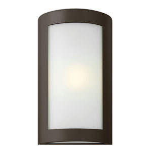 Solara Bronze 15.5-Inch One-Light Outdoor Wall Mounted