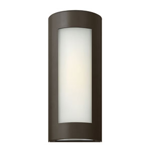Solara Bronze 14-Inch One-Light LED Outdoor Wall Sconce