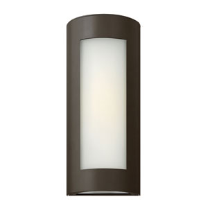 Solara Bronze 14-Inch One-Light Outdoor Wall Light