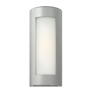 Solara Titanium 14-Inch One-Light Outdoor Wall Light