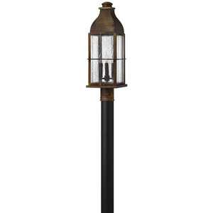 Bingham Sienna 8-Inch Three-Light Outdoor Post Top and Pier Mount