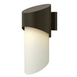 Solo Bronze 17-Inch One-Light Outdoor Wall Mounted