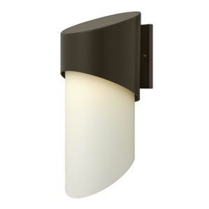 Solo Bronze 21-Inch One-Light Outdoor Wall Mounted