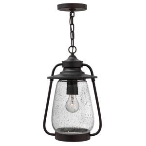 Calistoga Spanish Bronze 16-Inch One-Light Outdoor Hanging Lantern