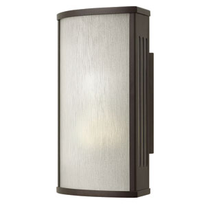 District Bronze 12-Inch One-Light LED Outdoor Wall Sconce
