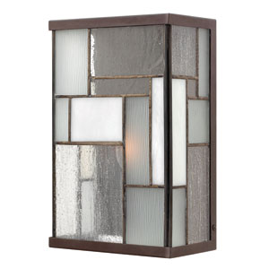 Mondrian Buckeye Bronze One-Light Outdoor Wall Light