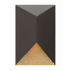 Vento Bronze 12-Inch One-Light LED Outdoor Wall Mounted
