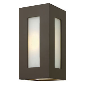 Dorian Bronze One-Light Outdoor Wall Light