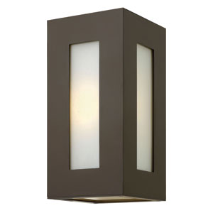 Dorian Bronze 12-Inch One-Light Outdoor Wall Light