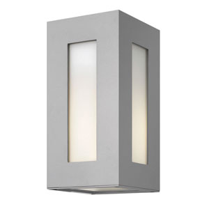 Dorian Titanium 12-Inch One-Light Outdoor Wall Light