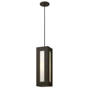 Dorian Bronze One-Light LED Outdoor Pendant