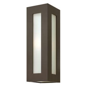 Dorian Bronze 18-Inch One-Light Fluorescent Outdoor Wall Light