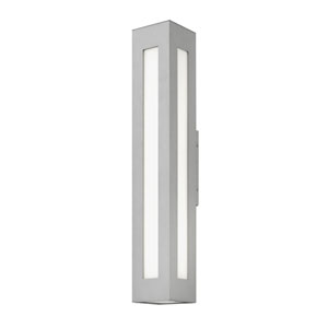 Dorian Titanium 6-Inch LED Outdoor Extra Large Wall Mount